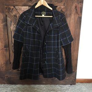 Idra Anthropologie coat. Sweater sleeves